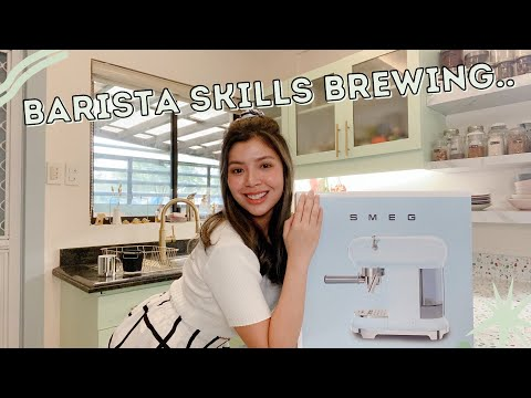 UNBOXING SMEG: why I chose SMEG ESPRESSO MACHINE over LATISSIMA