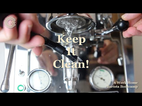 Keeping your Espresso Machine Clean – 6 Week Home Barista Bootcamp Episode 5