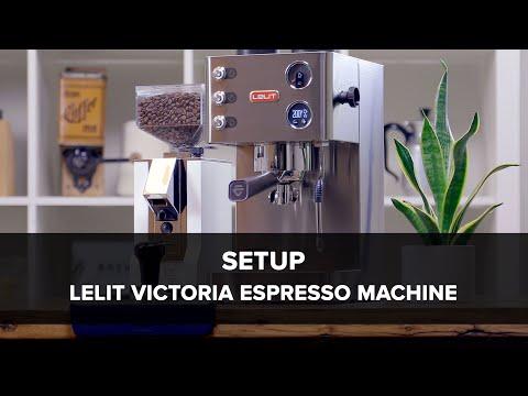 Lelit Victoria Espresso Machine Setup