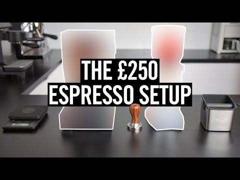 The Best Cheap Espresso Setup (£250 Budget)