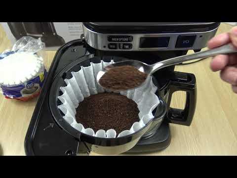 Hamilton Beach Easy Access Coffeemaker – How to use Demo