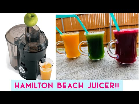 Hamilton beach big mouth juicer || easy cleaning || unboxing Hamilton beach juicer