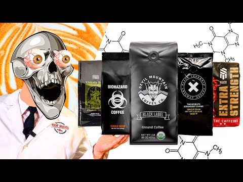 5 Most Strongest Caffeinated Coffees in the World! | Reviewed