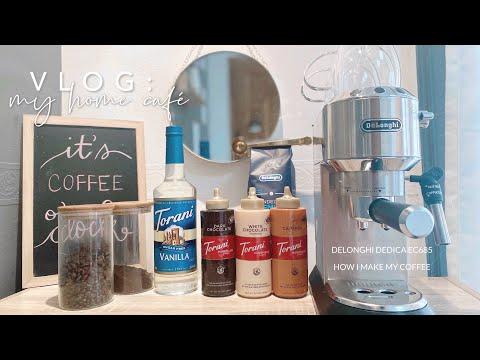 Morning Coffee with DeLonghi Dedica EC685 + my home café | Loradoel T. (Philippines)