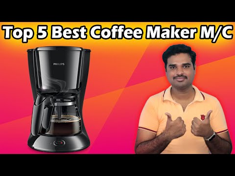 ✅ Top 5 Best Coffee Machines in India 2020 | Detail Coffee Maker Review & Comparison