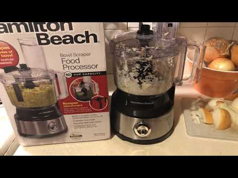 Hamilton Beach 10 Cup Food Processor Review !!