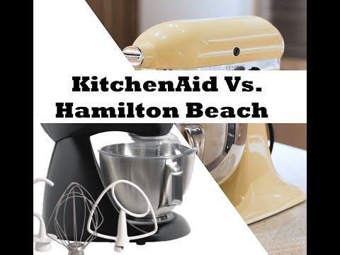 Kitchenaid classic or hamilton beach 4qt stand mixer