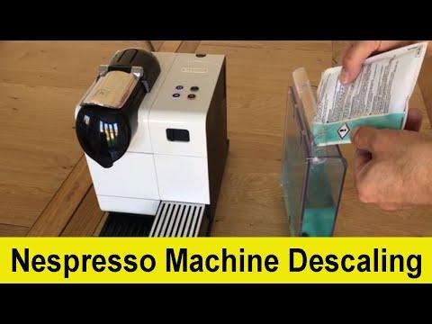 How to descale your Delonghi Nespresso Lattissima coffee machine