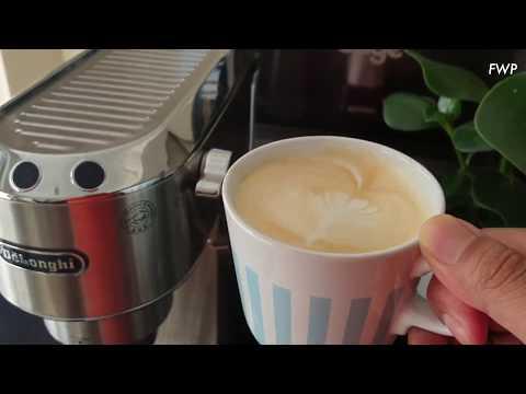 Quick tips: Silky milk hack using the Delonghi Dedica