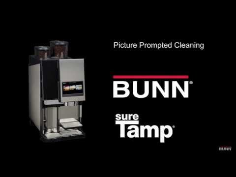 BUNN® Sure Tamp® Auto Daily Cleaning