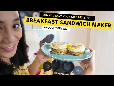 REVIEW Hamilton Beach Dual Breakfast Sandwich Maker