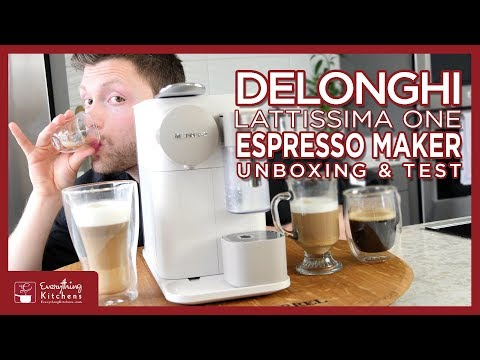Nespresso – Delonghi Lattisima One Unboxing & Test