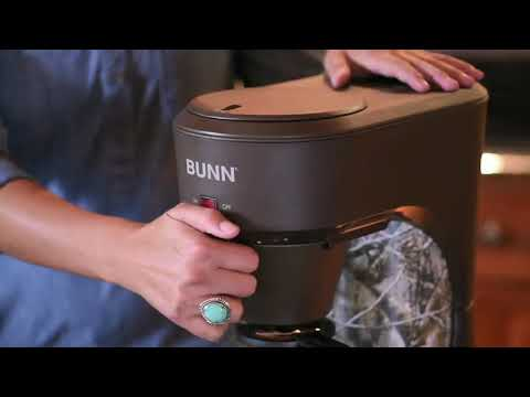 How to brew with your BUNN Speed Brew Coffeemaker