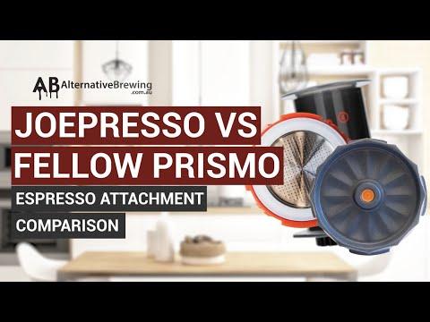 Joepresso Vs Fellow Prismo Comparison for AeroPress Coffee Maker