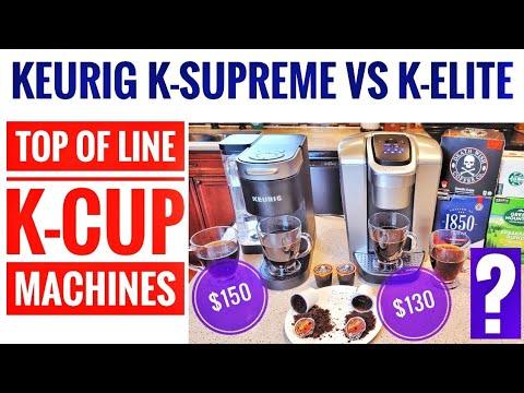KEURIG K SUPREME VS K ELITE K-Cup Coffee Makers COMPARISON WHICH IS BETTER??