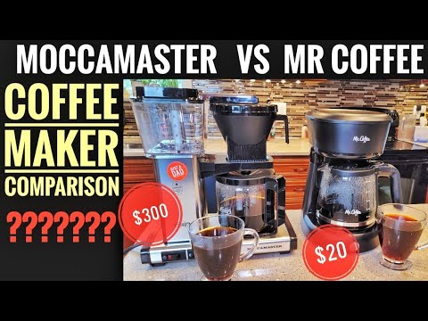 $300 Technivorm Moccamaster VS $20 Mr Coffee Maker Comparison WHICH ONE MAKES THE BEST COFFEE?