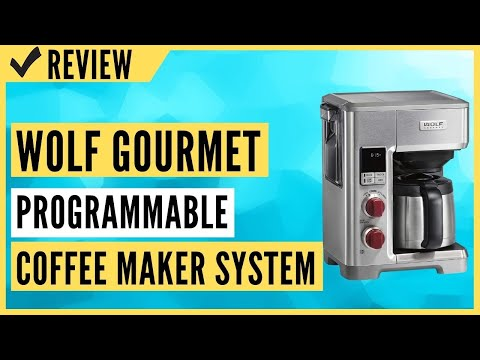 Wolf Gourmet Programmable Coffee Maker System with 10 Cup Thermal Carafe Review