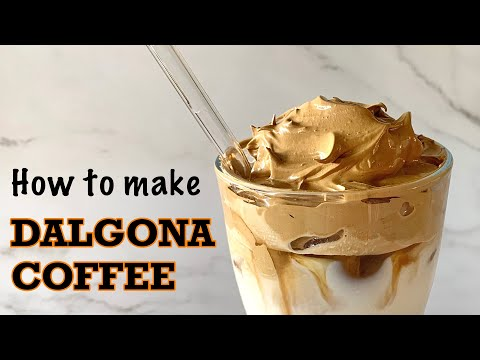 How to Make Dalgona Coffee / Frothy Coffee