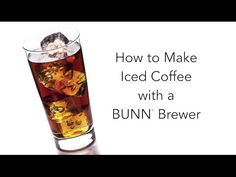 How to make Iced Coffee with your BUNN Home Coffeemaker