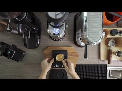 Morning Coffee IV with DeLonghi Dedica KG521 grinder and EC685 coffee machine.