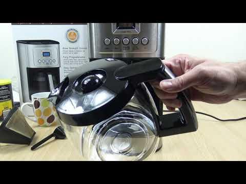 Cuisinart 14 Cup Programmable Coffeemaker Demo