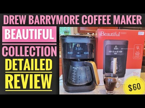 DETAILED REVIEW Drew Barrymore Beautiful 14 Cup Coffee Maker How To Make Coffee