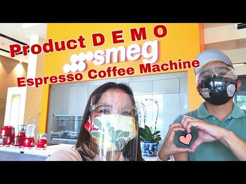 SMEG Espresso Coffee Machine DEMO