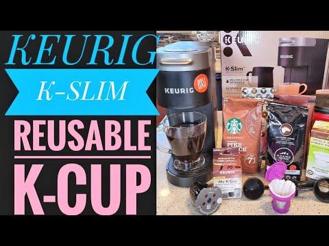 REUSABLE K CUP Keurig K Slim Coffee Maker HOW TO MAKE COFFEE My K-Cup Filter