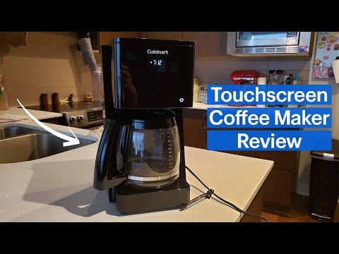 Cuisinart Touchscreen Programmable Coffee Maker Review