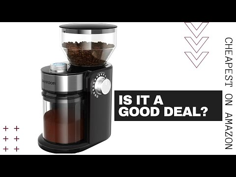 SHARDOR ELECTRIC COFFEE BURR GRINDER UNBOXING AND REVIEW – Cheapest Burr Grinder On Amazon