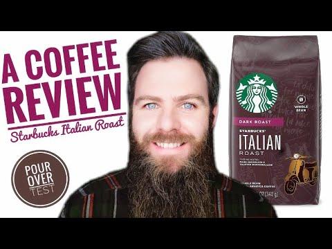 A Coffee Review ☕ Starbucks Italian Roast (Whole Bean) 2020 #56👍 😁