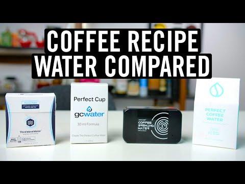 Coffee Recipe Water Compared