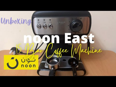 Noon East 15 Bar Coffee Machine | Unboxing | Affordable Espresso Machine