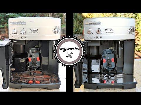 DeLonghi Coffee Machine – Revival and Restoring DeLonghi ESAM Magnifica