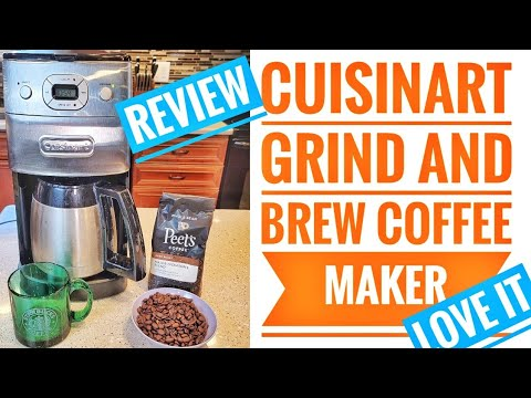 DETAILED REVIEW Cuisinart DGB-650BC Grind-and-Brew Thermal 10-Cup Automatic Coffeemaker HOW TO