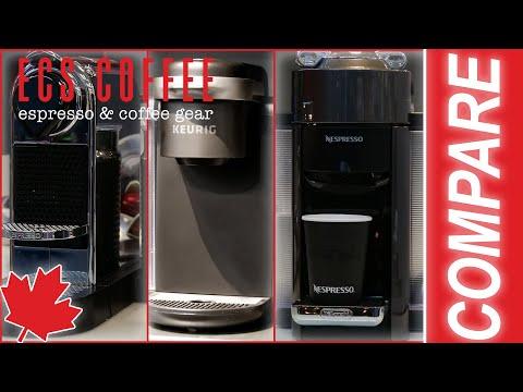 Nespresso OriginalLine vs. Nespresso VertuoLine vs. Keurig Machines | Latte, Espresso, & Coffee