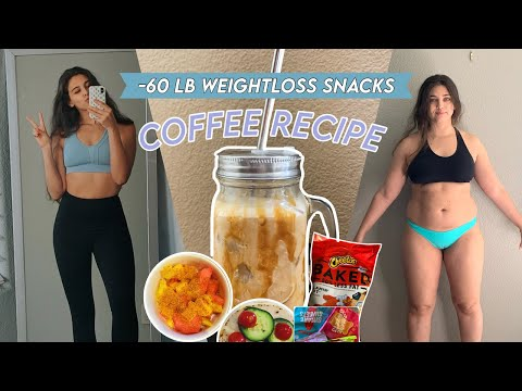 MY MUST HAVE SNACKS FOR WEIGHT LOSS + coffee recipe