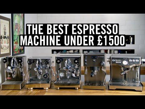The Best Espresso Machine Under £1,500