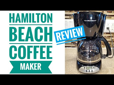 DETAILED REVIEW Hamilton Beach 12 Cup Programmable Coffee Maker