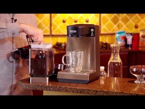 Brewing Ground Coffee with BUNN® My Café® MCU