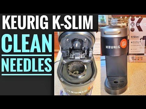 HOW TO CLEAN NEEDLES Keurig K Slim Coffee Maker K-Cup HOW TO FIX YOUR KEURIG NOT WORKING