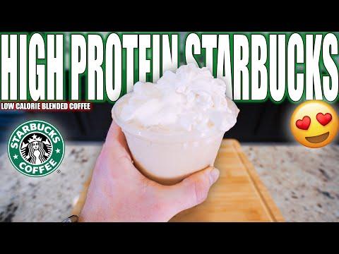 ANABOLIC STARBUCKS FRAPPUCCINO   High Protein Iced Coffee Recipe