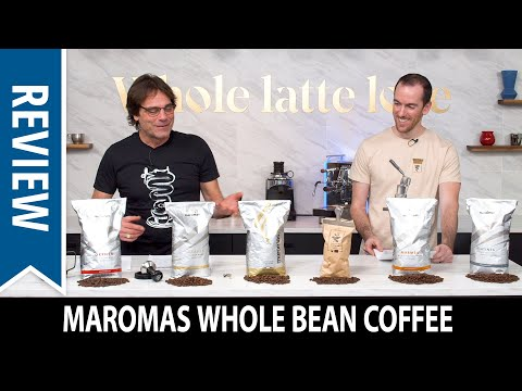 Review and Taste Test: Maromas Whole Bean Coffee