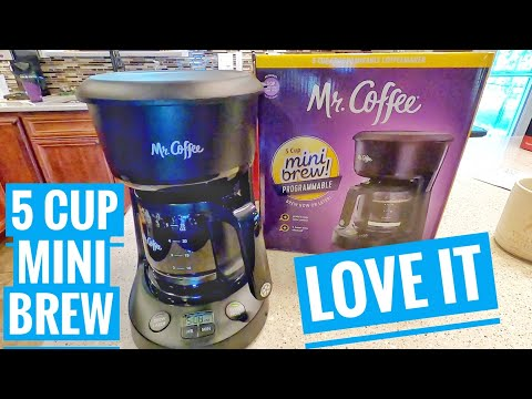 DETAILED Review Mr Coffee 5 Cup MINI Brew Programmable Coffeemaker