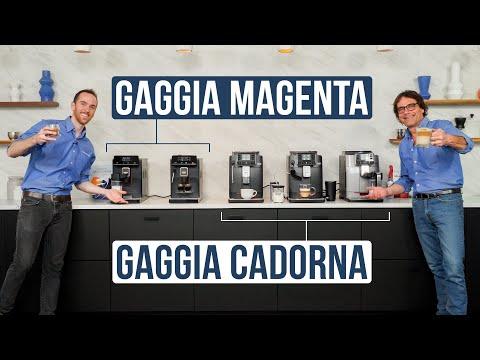 Compare: Gaggia Magenta vs. Gaggia Cadorna Automatic Espresso Machines
