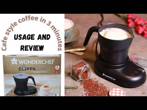 Wonderchef Cuppaccino | Usage and Review | 💯% honest