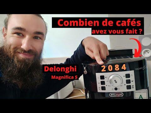 ASTUCES POUR LA MACHINE À CAFÉ AUTOMATIQUE [DELONGHI MAGNIFICA S]