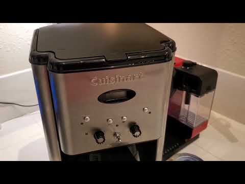 Review and Demo of Cuisinart DCC-1200 Coffee Maker