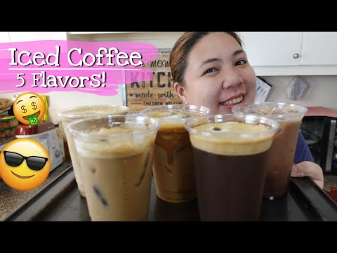 ICED COFFEE Recipe for Business
