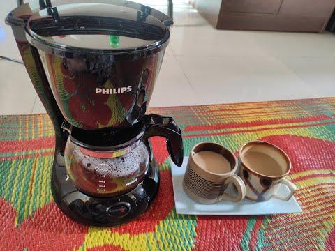 Philips Coffee Maker HD 7431/20  700 Watt ,Daily Coffee Maker Demo